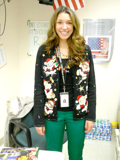 Ugly sweater contest 2012