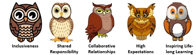 Graphic of Aborn Owls