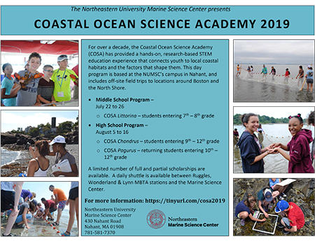Photo Of Marine Science Center Flyer