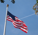 Photo Icon Of An American Flag