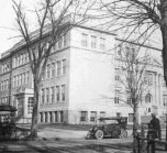 Old Photograph Of Classical High School Circa 1920